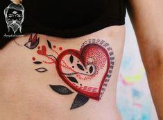 cartoonish tattoo