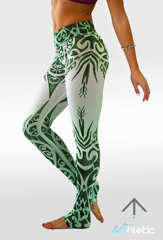 Emerald Goddess leggings Oh my goodness need some income so I can buy these beauties. Wow. Gorgeous.