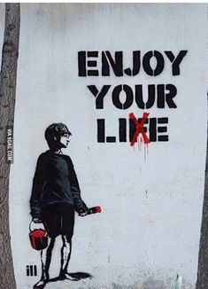 Banksy& 189 murals, graffiti and street art - .- Banksy& 189 duvar resmi, grafitisi ve sokak sanatı – Banksy& 189 murals, graffiti and street art – # the # Art - Street Art Banksy, Street Art Quotes, Street Art Artiste, Alphabet Graffiti, Graffiti Kunst, Banksy Graffiti, Banksy Artwork, Stencil Graffiti, Graffiti Drawing