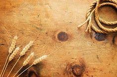 Vintage wheat and rope 4 by WonderMe on Creative Market