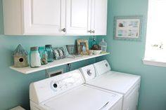 Janssen Interiors: Laundry Room Decorating Ideas