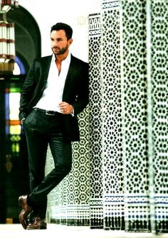 Saif Ali Khan. Dude, he IS royal.