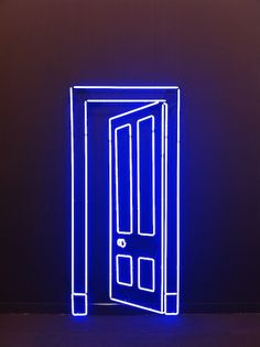 Neon by artist Gavin Turk at Almine Rech Gallery-frieze art fair-london http://spotpopfashion.com/qyoj
