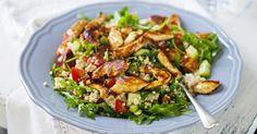 Recette de Salade de quinoa au poulet et crudités. Facile et rapide à réaliser, goûteuse et diététique. Ingrédients, préparation et recettes associées.