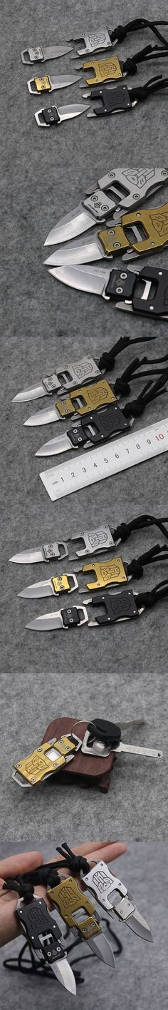 Mini Keychain Fixed Blade Knife 420 Blade Tactical Combat #survival Neck Knives tea Knife Outdoor Survival Camp Pocket Knives