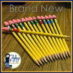 Mrs. Shipley's Classrooms: April Bright Ideas:Pencil Wars