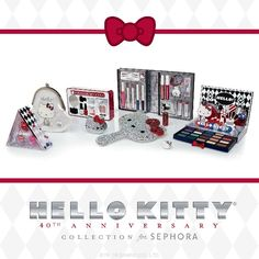 Hello kitty collection for senhora, an upgrade to the girly toys for grown woman hahah