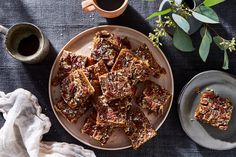 Pecan Pie Bars Recipe on Food52, a recipe on Food52 Best Pecan Pie, Pecan Pie Bars, Just Desserts, Dessert Recipes, Bar Recipes, Easy Pie, How Sweet Eats, Food 52, No Cook Meals