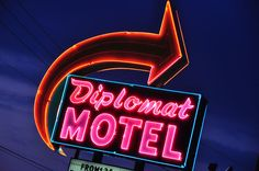Classic Motel Neon by instantwow, via Flickr