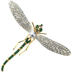 d21bd1e40bd Russian Dragonfly Pin - The Metropolitan Museum's Russian Dragonfly Pin is  a sparkling adaptation of a