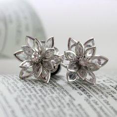 Flower Plugs 2g by somedaysoonjewelry on Etsy, $22.00