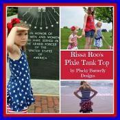 Rissa Roo's Pixie Tank Top - via @Craftsy