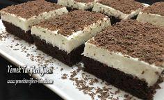 Vanilya Kremalı Çikolatalı Tatlı Tarifi