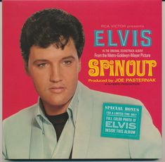 Elvis Presley Records, Elvis Presley Movies, Elvis Presley Photos, Classic Album Covers, Film Books, Vinyl Cover, Music Film, Lps, In Hollywood