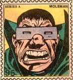 Marvel Value Stamp - Mole Man Mister Fantastic, Fantastic Four, Marvel Art, Marvel Comics, Mole Man, Comic Art, Comic Books, 1970s Childhood, Marvel Villains