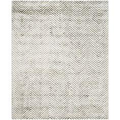 Soho Ivory/Grey 8 ft. x 10 ft. Area Rug