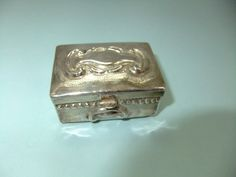 Vintage Sterling Silver Pill Box