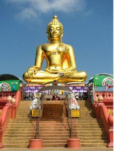 Buddha, in Bangkok Thailand