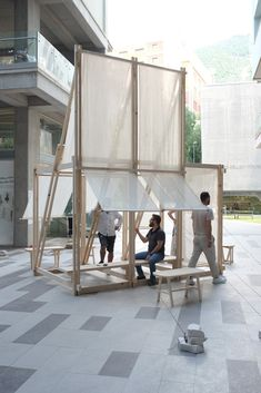 Gallery of Geçit Wooden Pavilion / IEU Faculty of Fine Arts and Design Workshop - 5