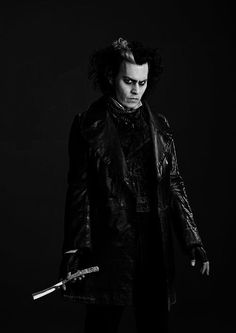 Johnny Depp as Sweeney Todd