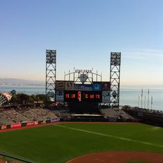 AT & T Park- gettin the bucket list rolling with the best stadium in MLB!