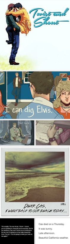 Twist and Shout; Destiel; Supernatural GOD I WASN'T READY FOR THIS FIC OR THIS FAN ART
