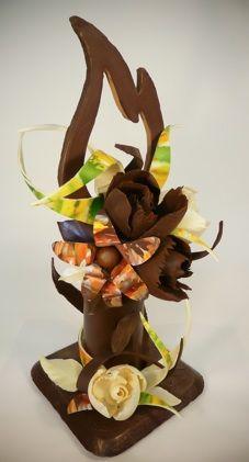 chocolate sculptures chocolate sculpture 158x300 a chocolate sculpture art pinterest. Black Bedroom Furniture Sets. Home Design Ideas