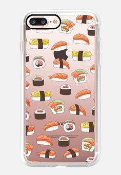 Casetify iPhone 7 Plus Classic Grip Case - Yummy sushi by Strawberringo…