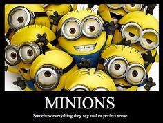 minions. hahaha