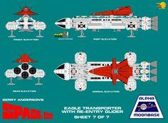 Gerry Andersons Space 1999 Eagle Transporter 7 of  by ArthurTwosheds.deviantart.com on @DeviantArt