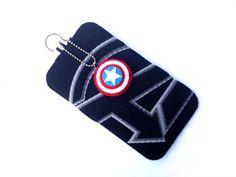 iPhone/Samsung Galaxy/iTouch: Avengers Felt Case