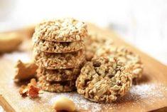 Φτιάξτε μπισκότα χωρίς ζάχαρη με γιαούρτι και βρώμη - Με Υγεία Gluten Free Cookie Recipes, Gluten Free Cookies, Healthy Cookies, Healthy Desserts, Cookie Light, Sesame Cookies, Cookie Images, Lactation Cookies, Cookies Et Biscuits