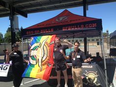 July 13, 2013 - SF Bulls staff at Castro Valley Pride