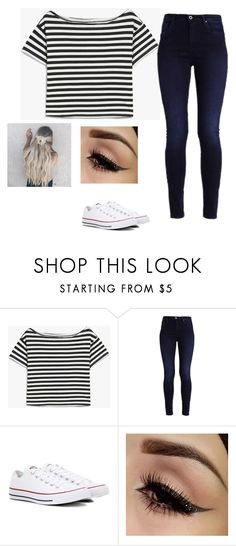"""""""Untitled #46"""" by sherfaith on Polyvore featuring Converse"""
