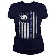 Postal Worker - #gift for girlfriend #gift for men. ORDER NOW => https://www.sunfrog.com/Jobs/Postal-Worker-100154696-Navy-Blue-Ladies.html?60505
