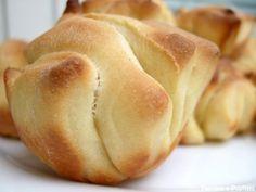 Petits pains briochés au jus d'orange