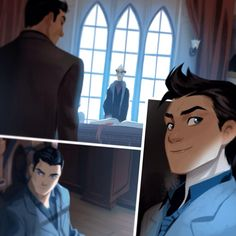 "mommaursa: ""Damian is gonna be in Gotham Academy in June !!!!From @MingjueChen's twitter """