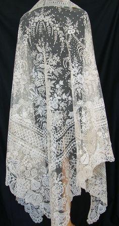 Antique Lace, Linens-Vintage Clothing-Textiles-Fans-Stella Niforos-New  York  Archive d494a9042ef