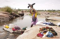 inde india village anegundi