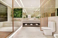 Banheiro amplo #quitetefaria #arquitetura #design #decoração #atriaalphaville #mpd #interiordesign #bathroom #decoraçãomoderna #apartamentodecorado