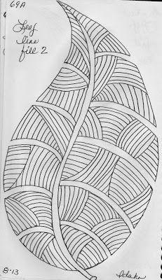 LuAnn Kessi: Sketch Book.....Leaf Designs 1