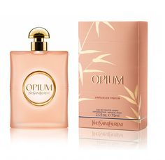 Ooh loving the powdery, pink, new Opium by Yves Saint Laurent bottle. Soft and sensual, this new fragrance will set the tone for a glamorous summers night.