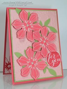 Beautiful Bunch For You Card by amyk3868 - Cards and Paper Crafts at Splitcoaststampers