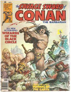 The Savage Sword of Conan the Barbarian. Vol. 1, No.16. U.S. Comic, Dec. 1976.