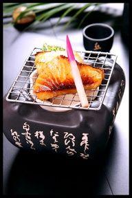 Gindara Saikyo-Yaki, Roasted Codfish on Open Fire|西京焼き / also good with chicken Good Food, Yummy Food, Tasty, Roast Fish, Japanese Food, Japanese Taste, My Sushi, Hotel Food, Exotic Food