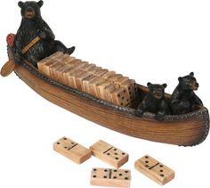 Bears in Canoe Dominoes