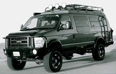 Sportsmobile 4WD Vehicle - This would be a good vehicle during the apocalypse.