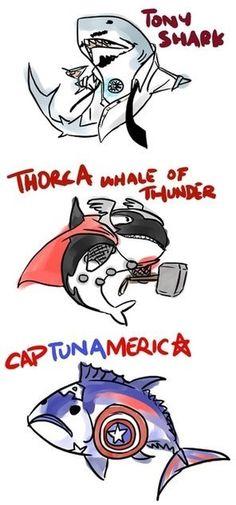 Nerdy fish humor #fishyhumor
