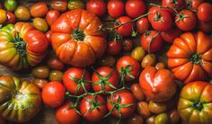 Colorful tomatoes of different sizes and kinds by Anna Ivanova on 500px
