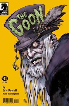 Badass comic book cover: The Goon No41